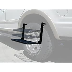SpareHand Wheel Step - For Large/Medium Trucks and SUV