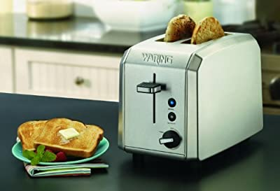Waring Professional Toaster, Brushed Stainless Steel by Waring