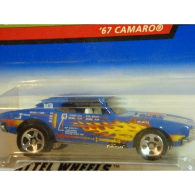 Hot Wheels 1967 Camaro Open Hood 5 Spoke Extreme Detail #947 X-Ray Cruisers Series 1/64 Scale Collector
