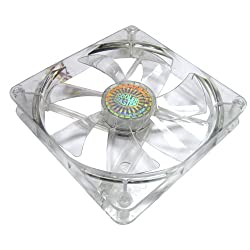 Cooler Master 140 mm Blue LED Sleeve Cooling Fan (R4-L4S-10AB-GP)