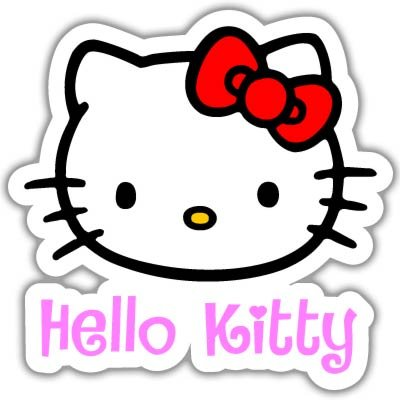 Hello-Kitty-Vynil-Car-Sticker-Decal-Select-Size