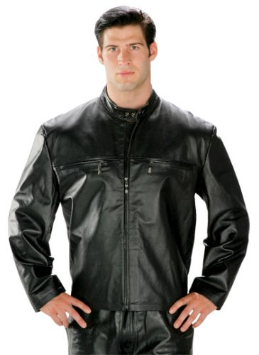 Collarless Short Zipper Mens Leather Jacket - Buy Collarless Short Zipper Mens Leather Jacket - Purchase Collarless Short Zipper Mens Leather Jacket (USA Leather, USA Leather Coats, USA Leather Mens Coats, Apparel, Departments, Men, Outerwear, Mens Outerwear, Coats, Full Length, Mens Coats, Full Length Coats, Mens Full Length Coats)