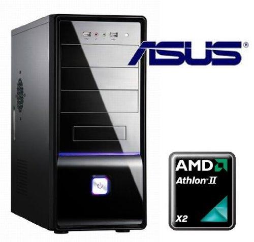 Tronics24 averagesystem AMD AM3+ Athlon II X2 250 2x 3 GHz (Dualcore), 4 GB DDR3, Asus mit AMD HD3000, 500 GB SATA, DVD-Brenner, Sound, GigabitLan, Office PC