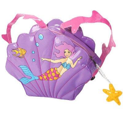 3-D Rucksack Tasche Nixe Kinder wasserabweisend