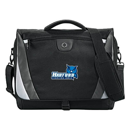 Harford Slope Compu Messenger Bag 'Harford Fighting Owls W/Owl Head'