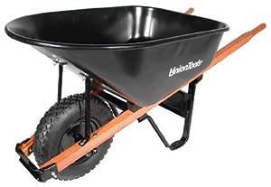 Union Tools Union Wheelbarrows - 6cu.ft. steel wheelbarrow w/knobby ti