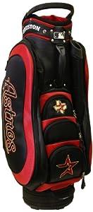 MLB Houston Astros Medalist Cart Golf Bag, Black by Team Golf