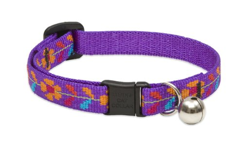 Spring Fling Cat Collar with Bell, 1/2-Inch