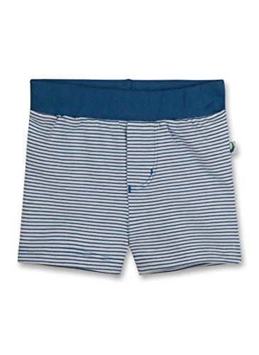 Sanetta Baby - Jungen Short 113206, Gr. 62, Blau (Swedish Blue 5829)