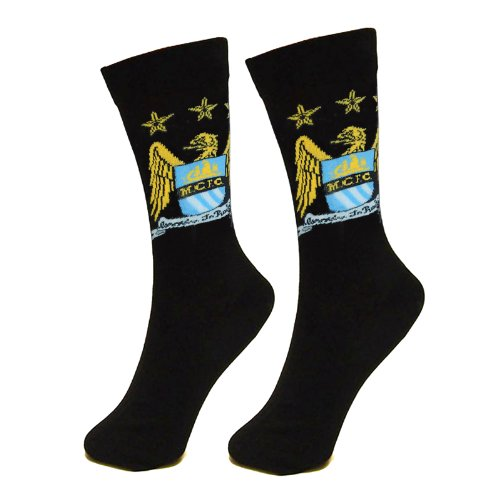 Manchester City F.C. Socks 1 Pack Mens 6-11