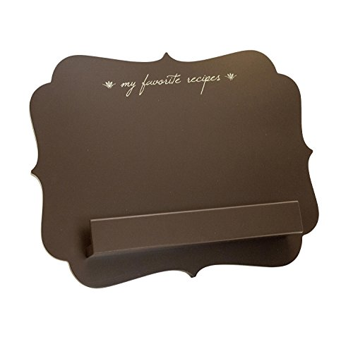 "Boston Warehouse Tablet Stand, ""My Favorite Recipes"" Design"