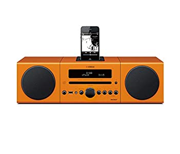 Review and Buying Guide of Cheap Yamaha MCR042 Micro Component System - Orange (Digital Docking, USB Intelli Alarm)