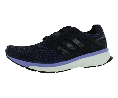 adidas Performance Women's Energy Boost Reveal Running Shoe, Black/White, 8.5 M US (Mens Energy Boost compare prices)