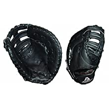 Akadema Professional 12.5″ ProSoft Design Series First Base Baseball Glove (Single Post Double Bar Web)