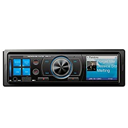 See Homelink Car Single Din In-Dash Stereo MP3 Player & FM Receiver with AUX USB Port & SD Card Slot Multi-color LCD display Details
