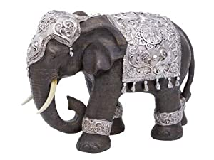 Artisanti Decorated Elephant Figure       Customer reviews and more information