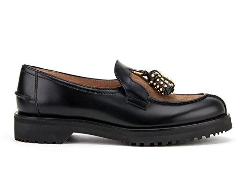 Mocassini Car Shoe nero spazzolato e scamosciato - Codice modello: KDD23L 3D7W F0DBT05 - Taglia: 36 IT