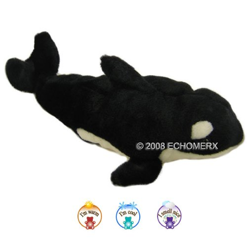 Aroma Orca-Aromatherapy Stuffed Animal-Hot And Cold Therapy