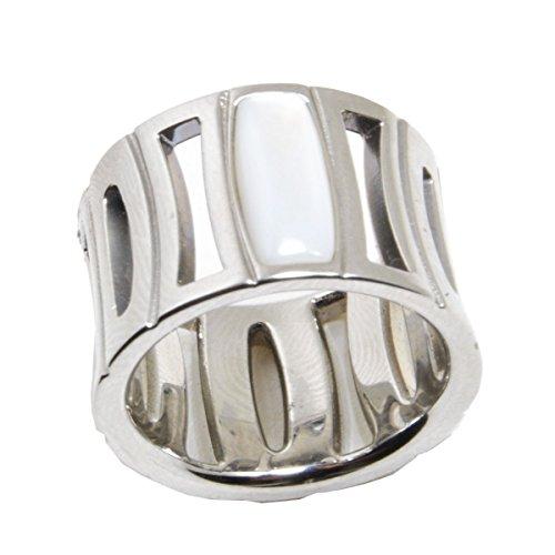 Fossil anello in acciaio JF80806