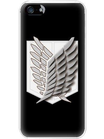 iPhone5 cover case iPhone 5 Apple emblem initials S