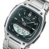 CASIO(カシオ) AW-81D-1A/AW81D-1A テレメモ アナデジ シルバー メンズ/ユニセックスウォッチ 腕時計 [並行輸入品]