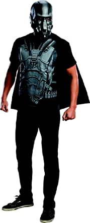 Superman Man of Steel General Zod Costume T-shirt W/cape