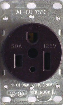Cooper Wiring Devices 1253BOX Flush Receptacle