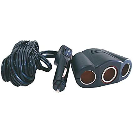 Maxsa Innovations 20093 3 Outlet Car Charger