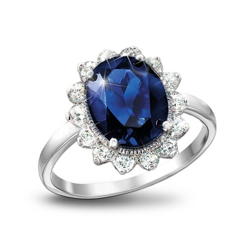 The Kate Middleton Engagement Ring Replica Royal Inspiration By The Bradford Exchange