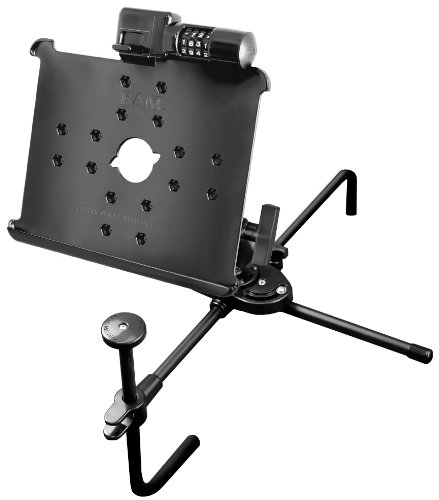 RAM Mounting Systems RAM-SM1-AP8L Ram Mount Locking Universal Seat Mate Mount for Apple iPad