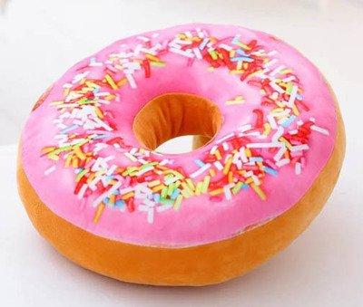 YunNasi-Coussin-Donut-en-Peluche-Oreiller-Dcoratif-Comfortable-et-Doux-Idal-pour-Canap-Lit-et-Voiture-40cm