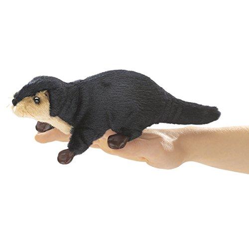 Folkmanis Mini River Otter Finger Puppet - 1