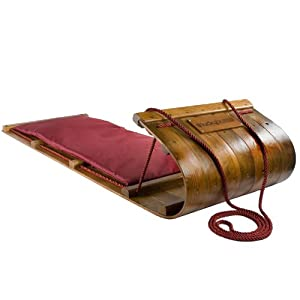 Lucky Bums Heirloom Collection Wooden Toboggan with Pad (48-Inch) at Sears.com