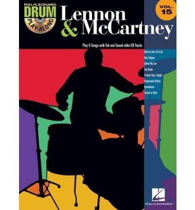 Drum Play-Along: Volume 15: Lennon & Mccartney (Hal Leonard Drum Play-Along) (Paperback) - Common