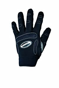 Bionic Men's Full Finger Fitness Gloves, Black, Medium