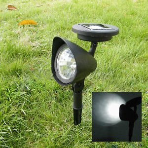 2er set led solar strahler solar spot light gartenspot. Black Bedroom Furniture Sets. Home Design Ideas