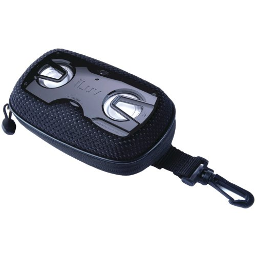 Iluv Isp120Blk Portable Outdoor Speaker Case (Black) Iluv Isp120Blk Portable Outdoor Speaker Case (