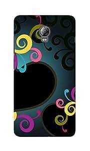 CimaCase Hearts Designer 3D Printed Case Cover For Lenovo Vibe P1