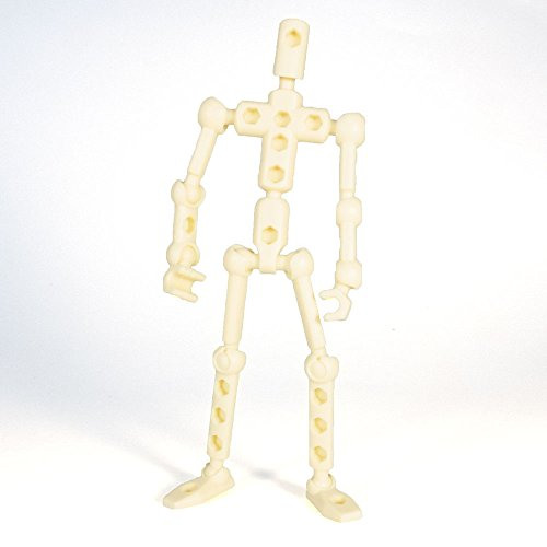 ModiBot Mo Action Figure Kit - Tan - 1