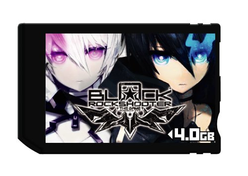ブラック★ロックシューター THE GAME Memory Stick PRO Duo 4GB for PSP