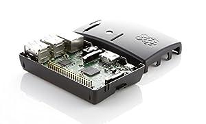 Raspberry Pi Model B + (B Plus) Black Case