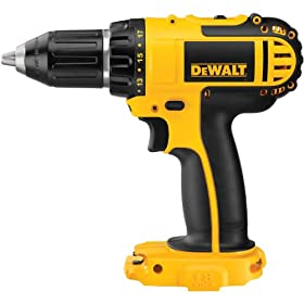 Bare-Tool DEWALT DCD760B  1/2-Inch  18-Volt Cordless Compact Drill/Driver (Tool Only, No Battery)
