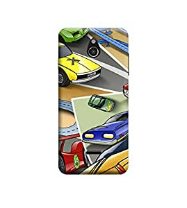 EPICCASE Premium Printed Back Case Cover With Full protection For Infocus M2 (Designer Case)