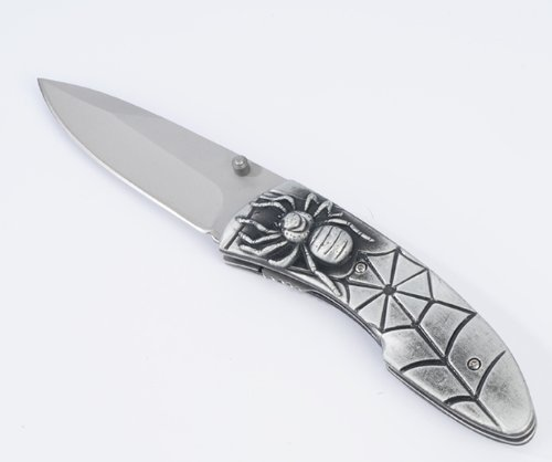 Spider Style Pocket Folding Knife with 4″ Blade