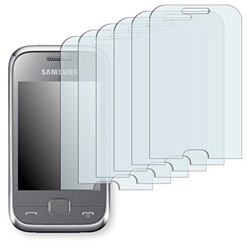 6 x Ultra Clear Displayschutzfolie für Samsung C3310R Rex 60