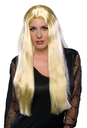 Long Blonde Witch Wig - 1