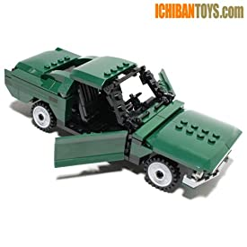 Bullitt's 1968 Fastback - Custom LEGO Element Kit