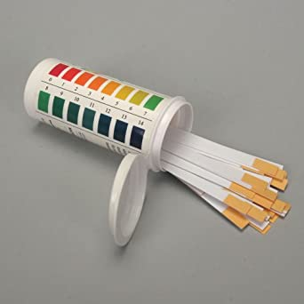 Hydrion Spectral pH Strips (pH 0.0 to 14.0), Pack 100