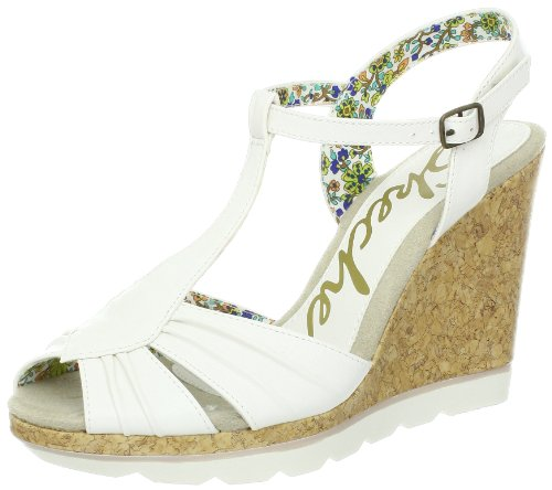 Skechers Cutting Edge Sandals Womens White Weià (WHT) Size: 7 (41 EU)