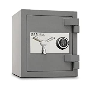 Mesa Safe MSC1916E High Security 2 Hour Burglary Fire Safe with Electronic Lock, 1.1... by Mesa Safe